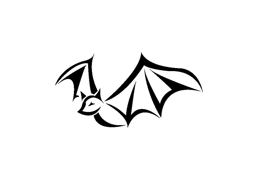simple angel tattoo