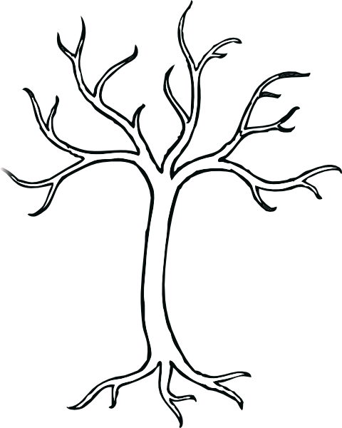 Tree Template Printable ClipArt