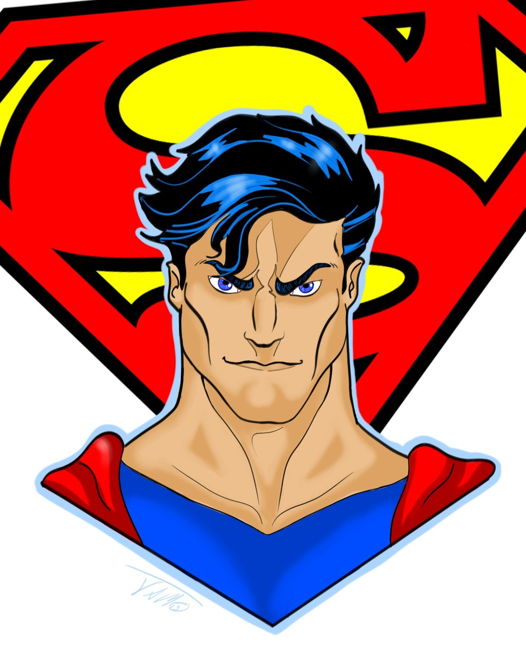 Superman Character Symbol - ClipArt Best