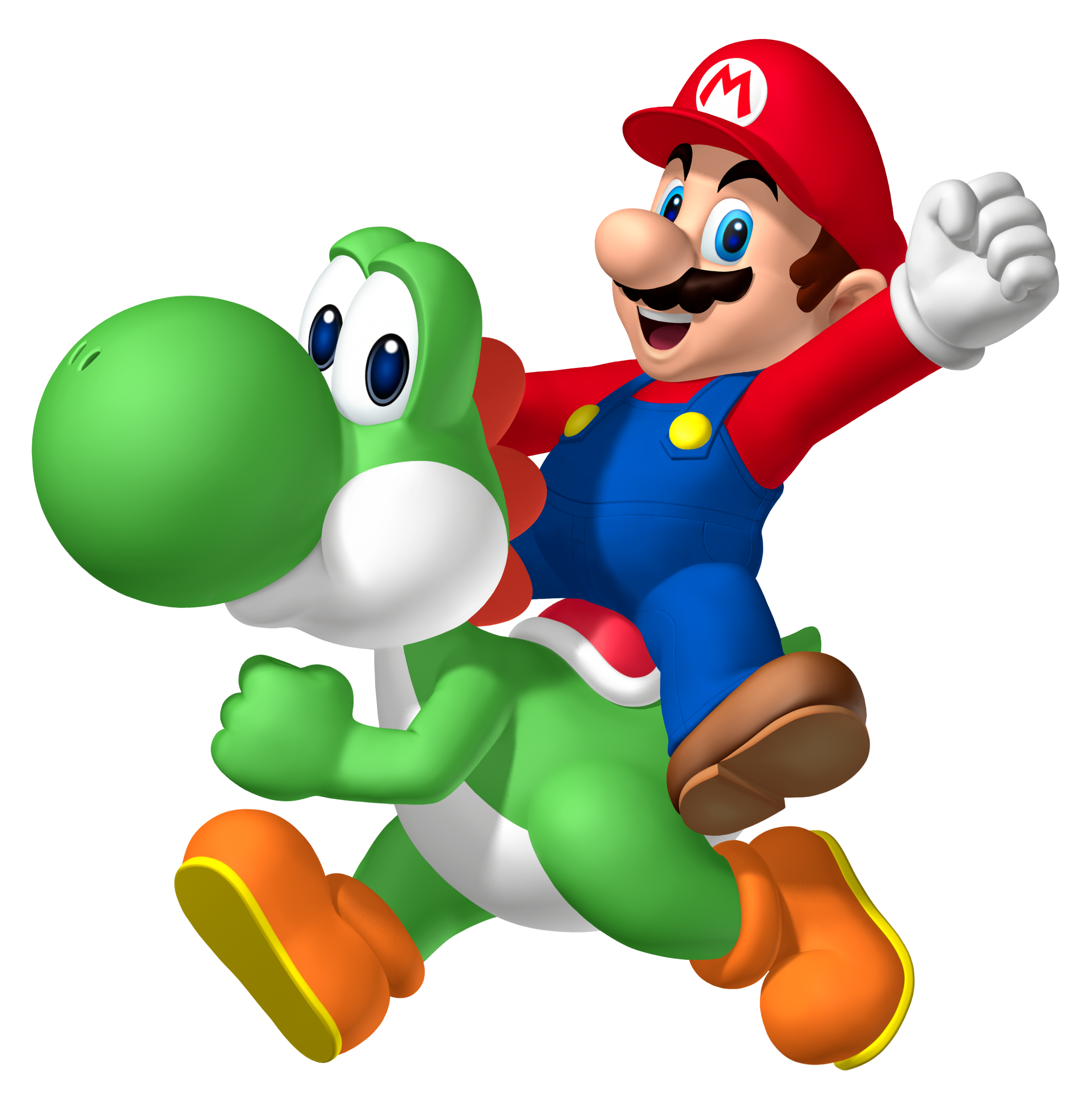 Mario And Yoshi - ClipArt Best