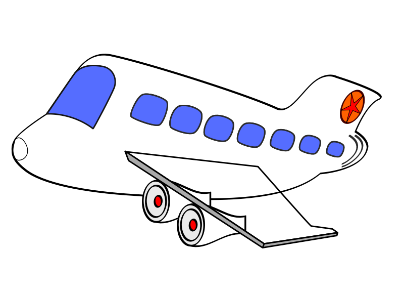 airplane clipart transparent background - photo #29
