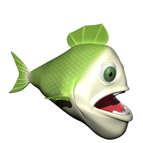 Fish Cartoon Characters