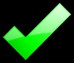 Green Tick Transparent Background - ClipArt Best