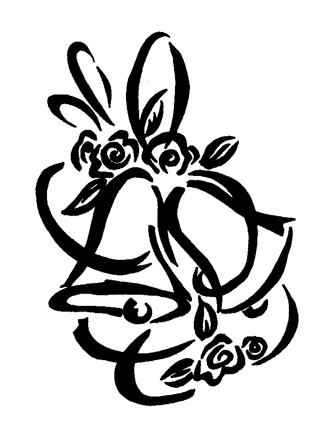 Clip Art Wedding Bells