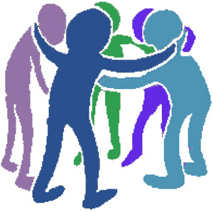 Clip Art-working Together