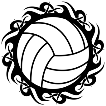 Volleyball Clipart Awesome and