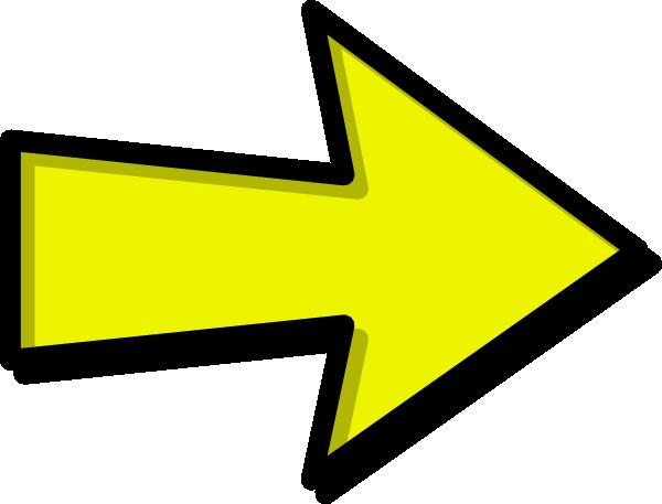 Yellow Arrow Clip Art Vector Clip Art Online Royalty Free Clipart Best Clipart Best