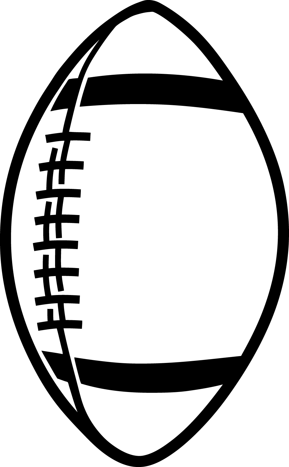 Football field outline png clipart