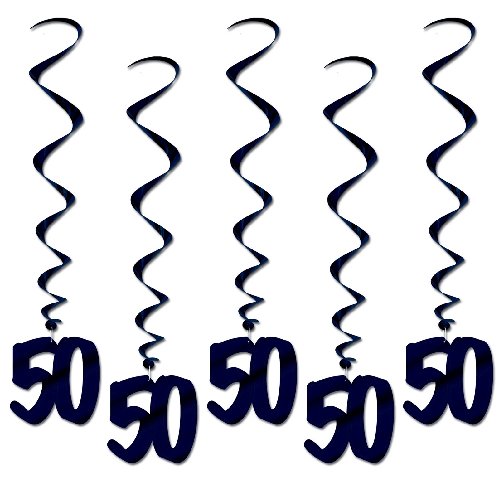 50th Birthday Borders Clipart