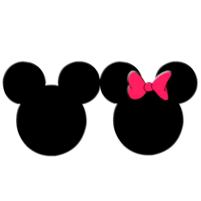 Cartoon mickey mouse clipart ears illustration
