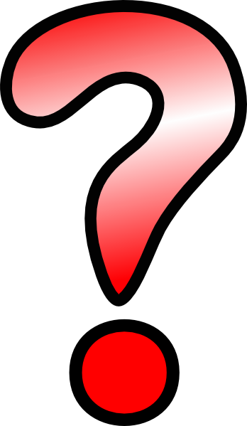 Red Question Mark Clipart - Free Clipart Images
