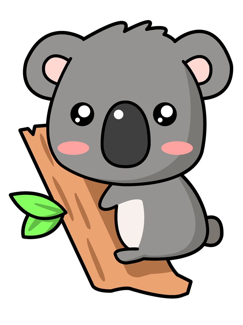 Cartoon Kola Bear Face - ClipArt Best
