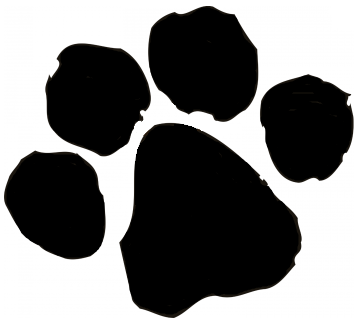 Panther Paw Print | Free Download Clip Art | Free Clip Art | on ...