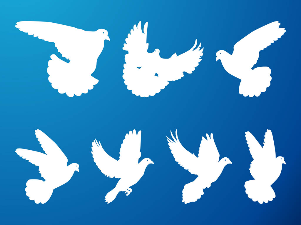 Flying Dove Vector - ClipArt Best