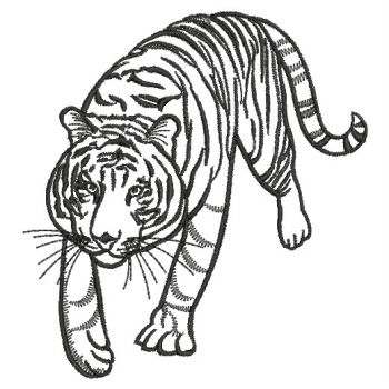 Embroidery Designs Wild Animal