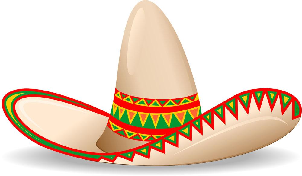 Mexican Sombrero Clip Art - ClipArt Best
