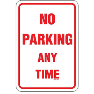 Ambitious image intended for printable no parking signs