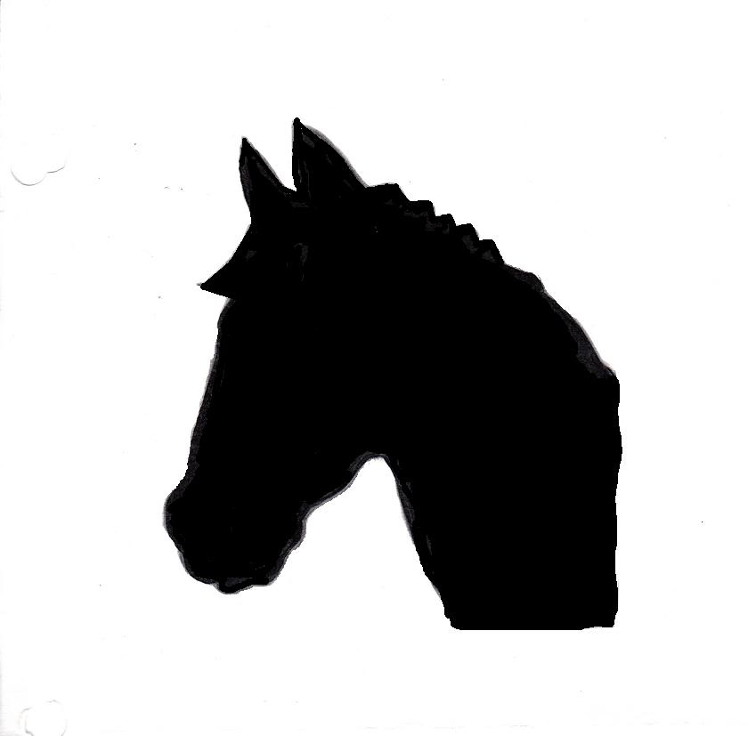Gallery For > Arabian Horse Head Stencil