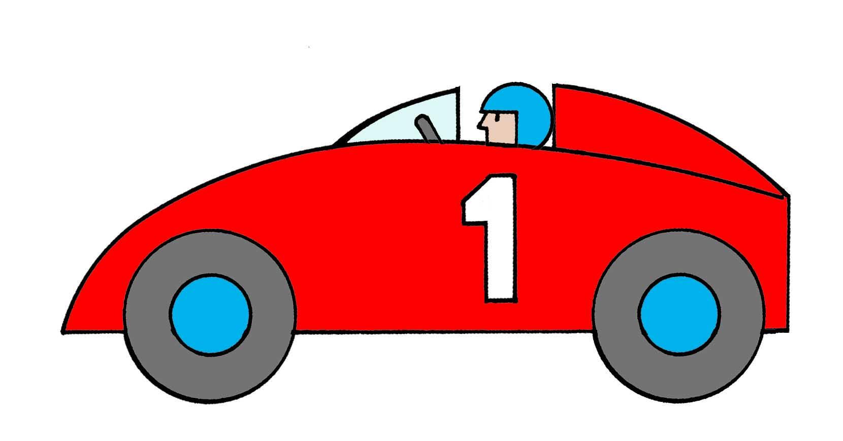 Cartoon Race Car Stock Images RoyaltyFree Images