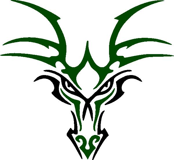 Simple Dragon Art - ClipArt Best