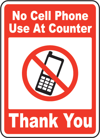 No Cellphone Sign Images - ClipArt Best