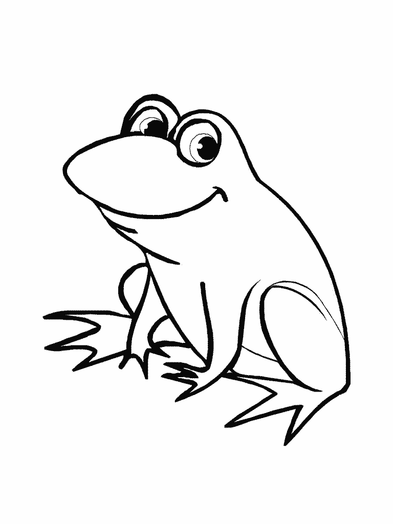 Line Drawing Frog : Cute frogs drawings clipart best