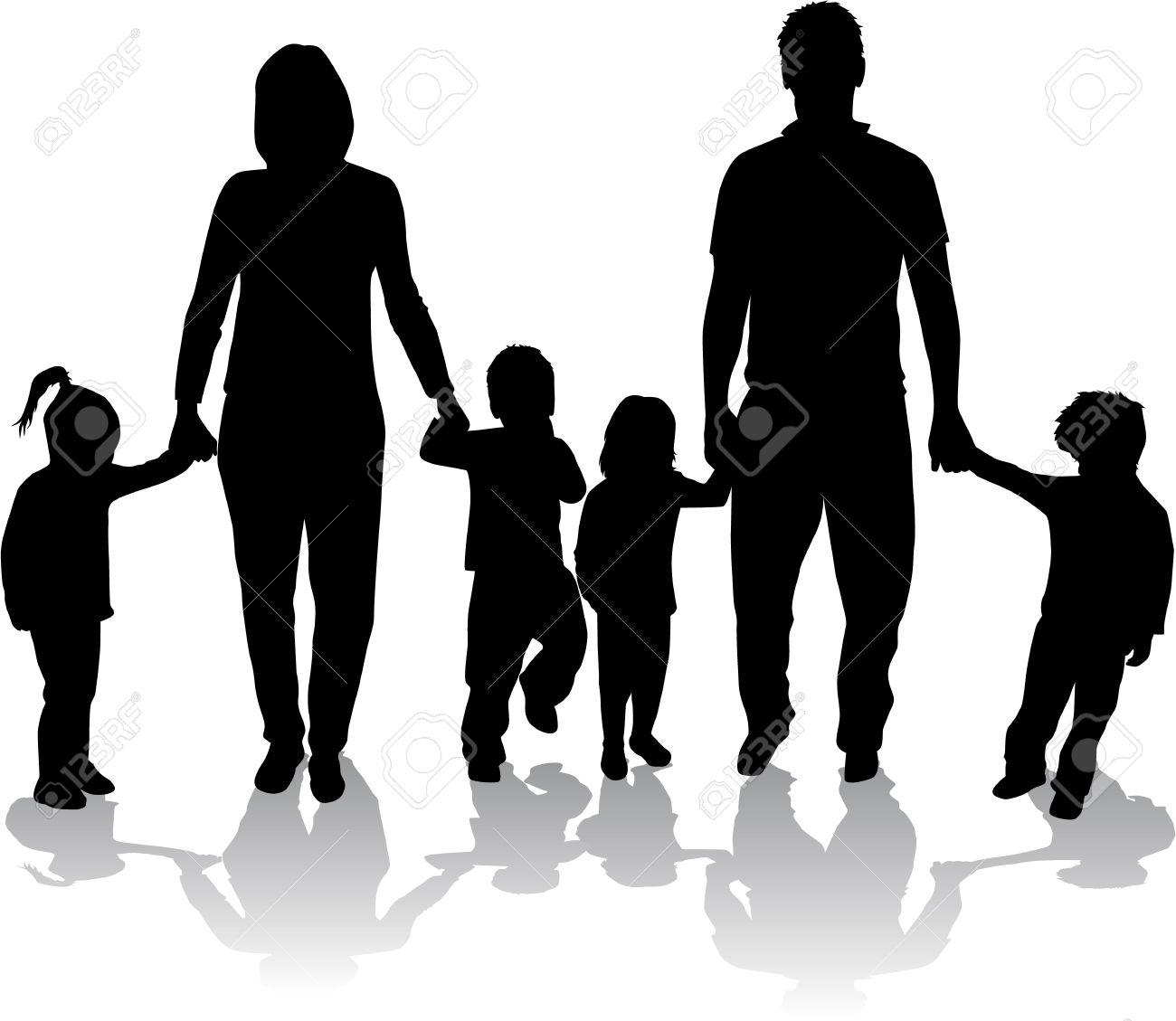 clipart big family - photo #40