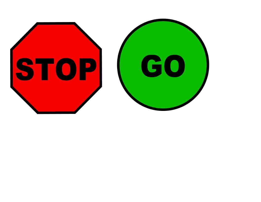 Stop sign free printable stop and go signs danaalla top cliparts ...