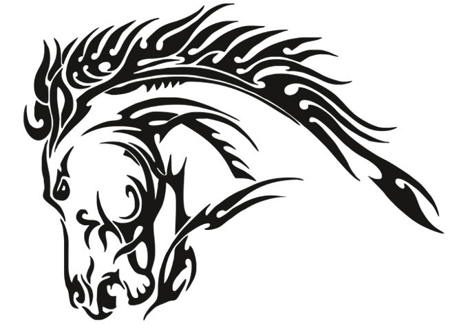 Horse vinyl wall decals highest clarity pics