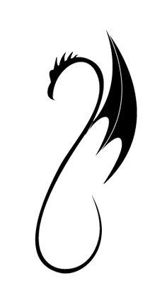 Tattoo dessin dragon facile clipart best - Dessin dragon simple ...