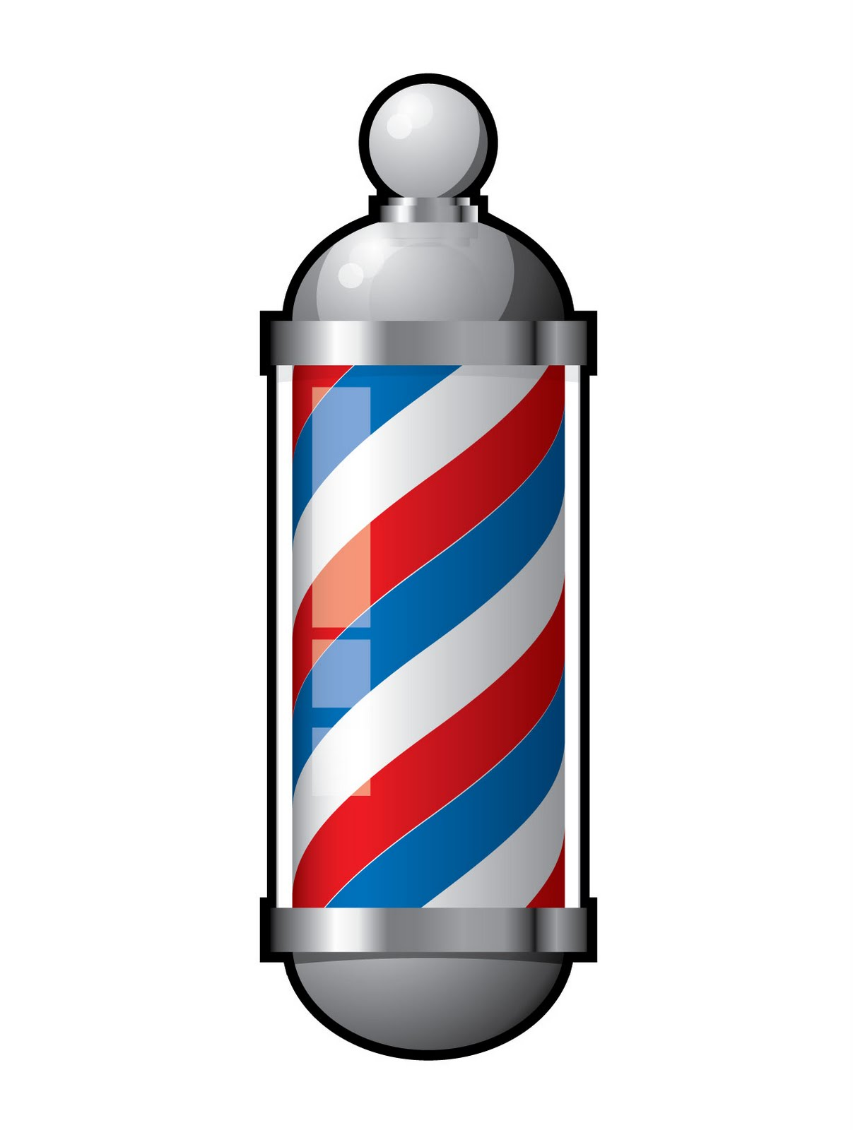 Barber Clipart Barber Pole Vector - C...