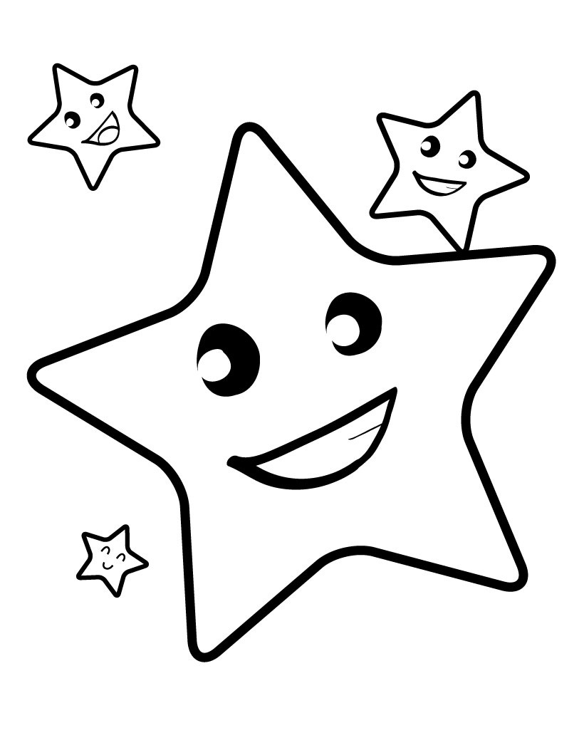 Shooting Star Coloring Pages Star Coloring Pages For