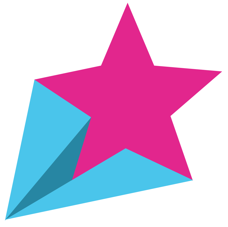 Retro Shooting Stars Clipart - Karen Cookie Jar