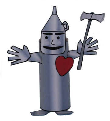 Tin man clip art clipart best for How to make a tin man out of cans