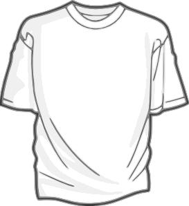 T Shirt Outline Printable Clipart Best