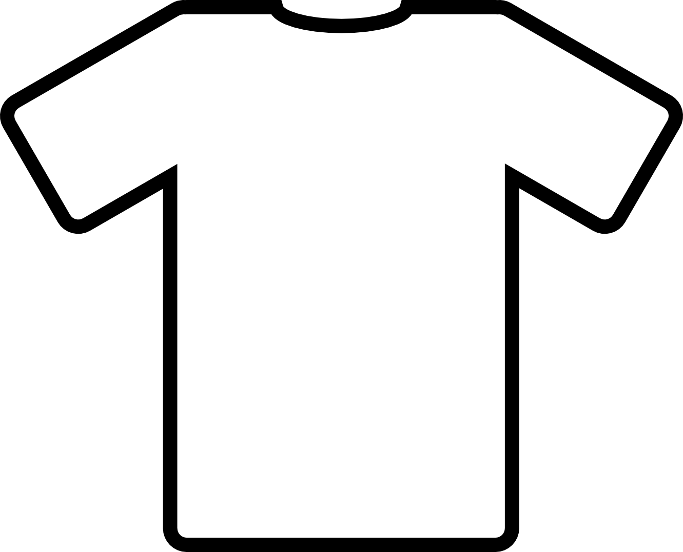 Line Art T Shirt Design : Line drawing shirt clipart best