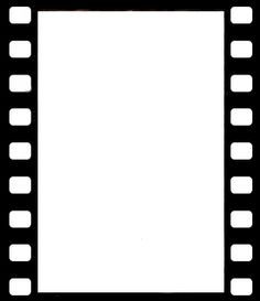 Film strip template design clipart best for Printable film strip template