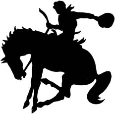 Bucking Horse Images - ClipArt Best