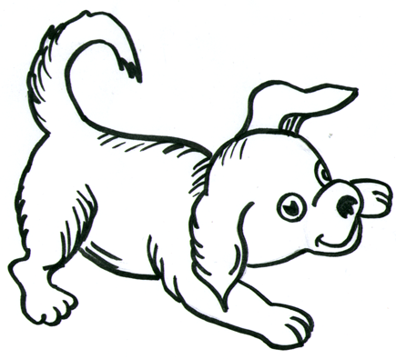Simple Dog Drawing - ClipArt Best
