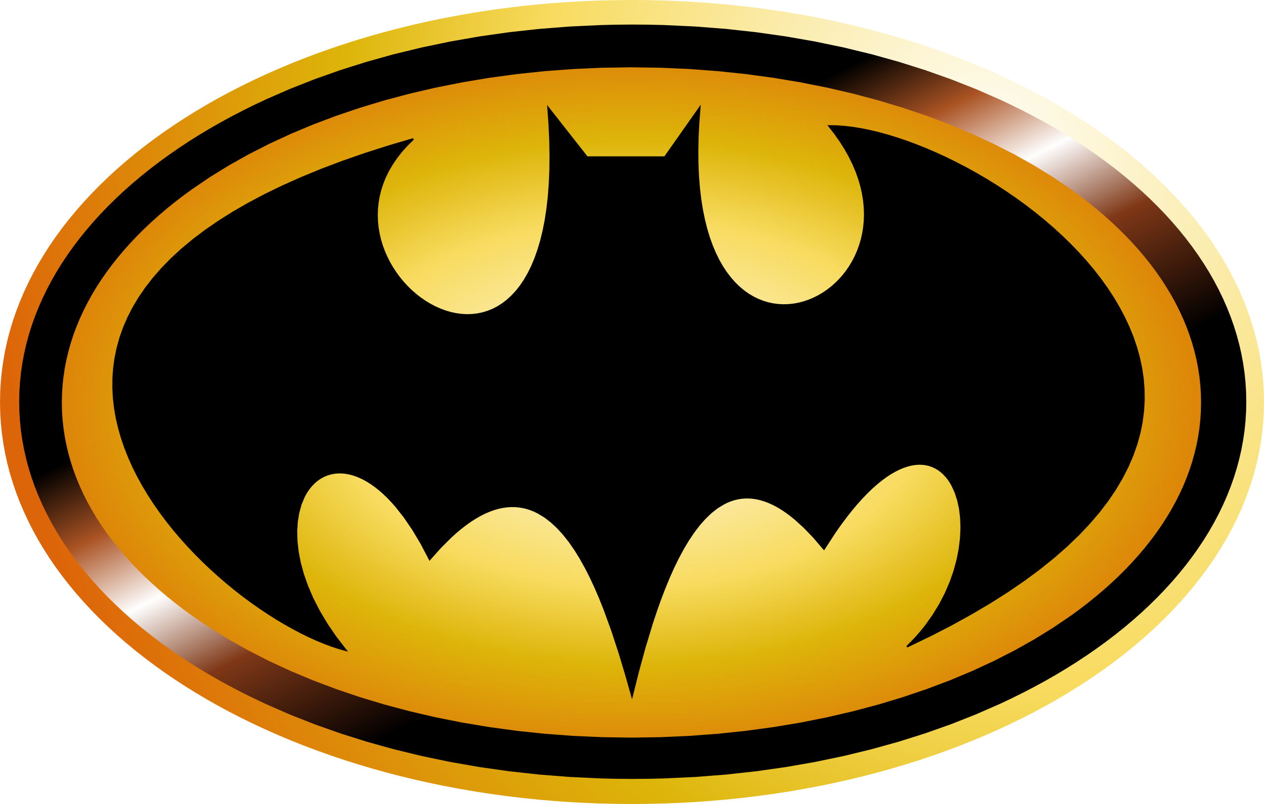 Free printable batman logo clipart best Batman symbol