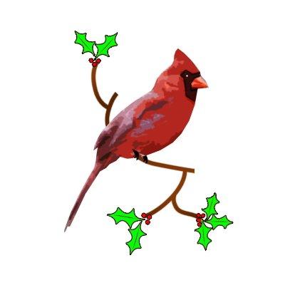 Cardinal Christmas Lights