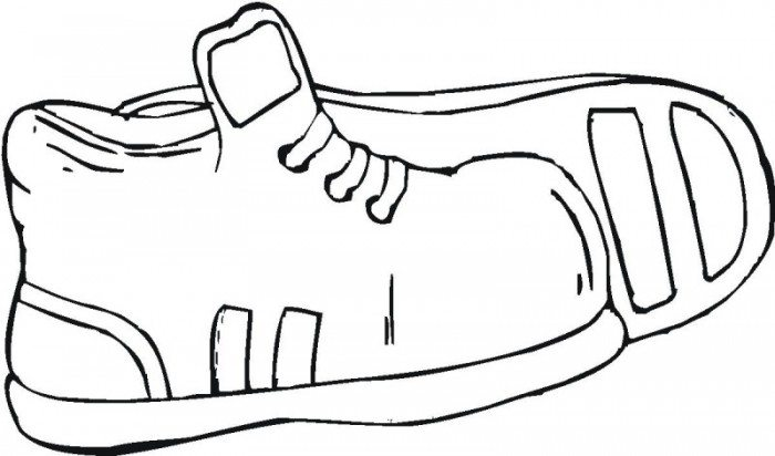 childrens coloring pages shoes - photo#37