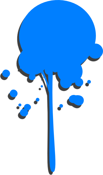 Blue Paint Splash Png - ClipArt Best