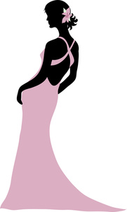 Prom Dress Clipart - ClipArt Best