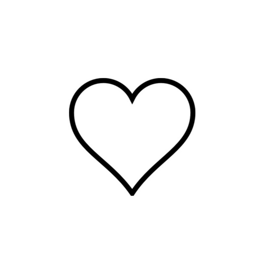 Simple Heart Line Art : Simple heart design clipart best