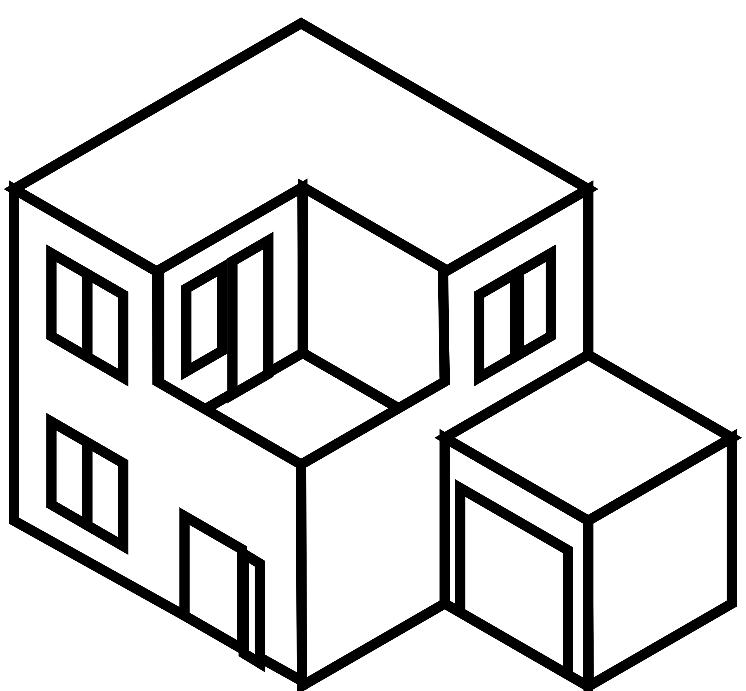 Line Art House Png : D isometric line drawing of a double fronted single story