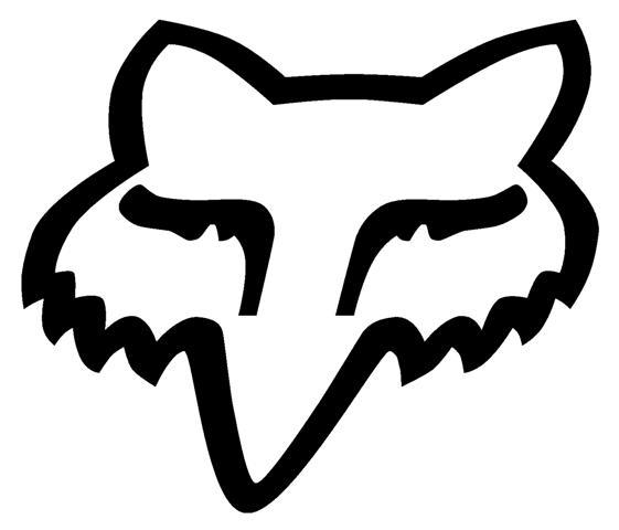 Fox head outline - photo#5