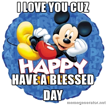 Happy Birthday Jd Meme >> Have A Blessed Day - ClipArt Best