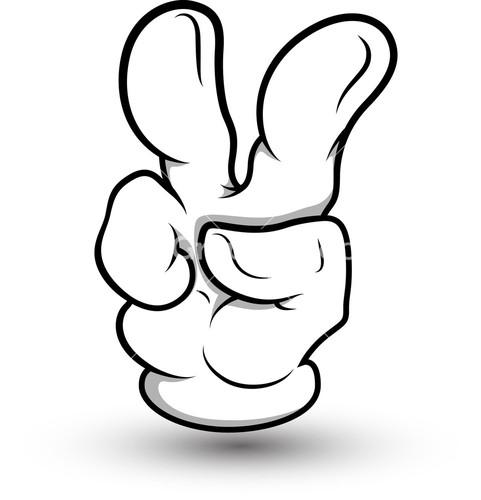 Middle Finger Vector - ClipArt Best