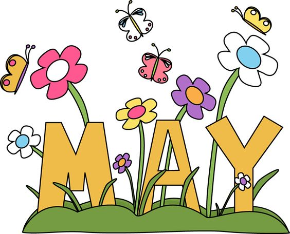 May flowers, Flower clips and Art images